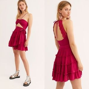 Free People Hot Dang Mini Dress